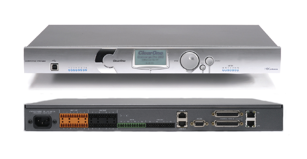 Clearone CONVERGE Pro 880, Teleconferencing