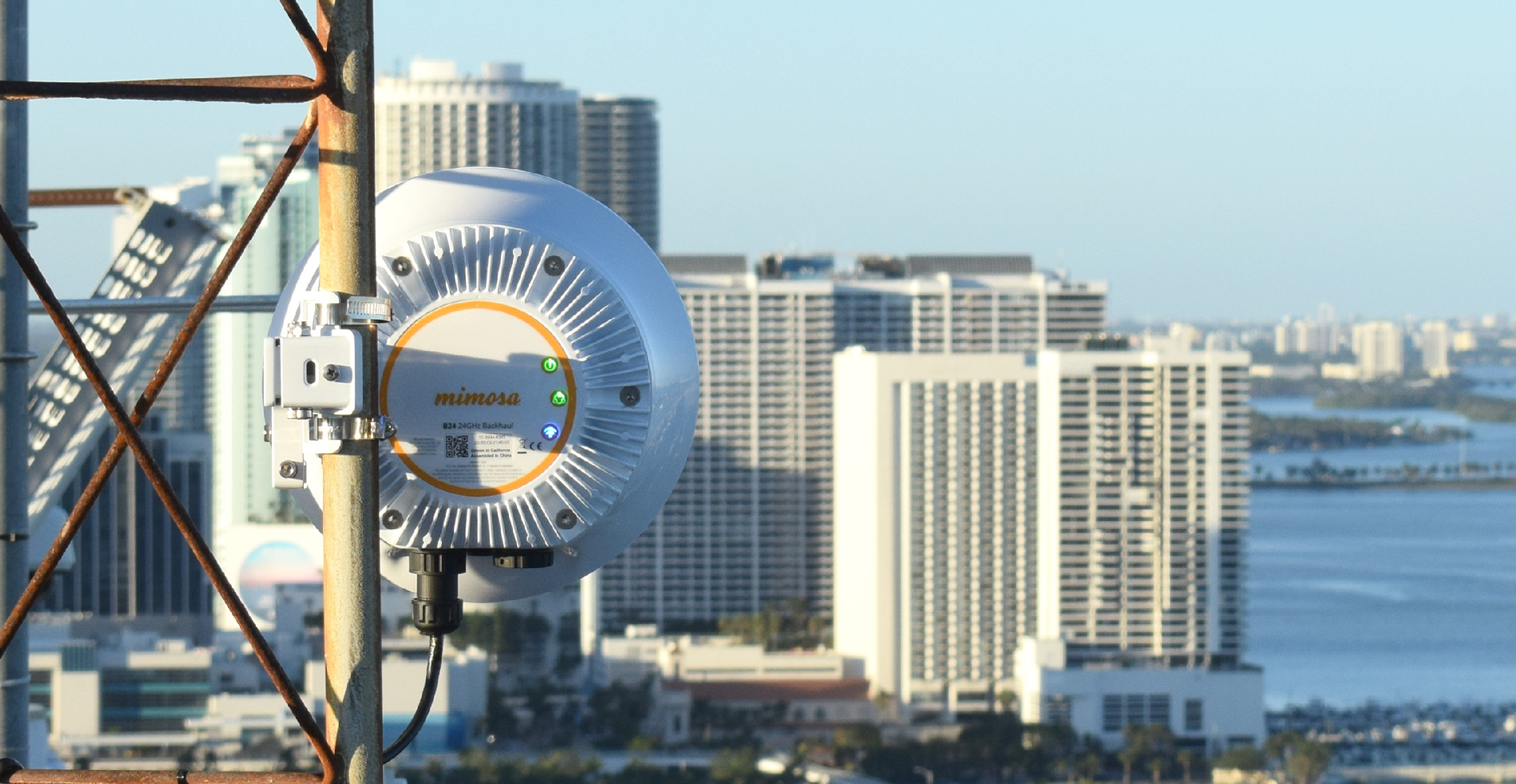 Mimosa Smart City Solution