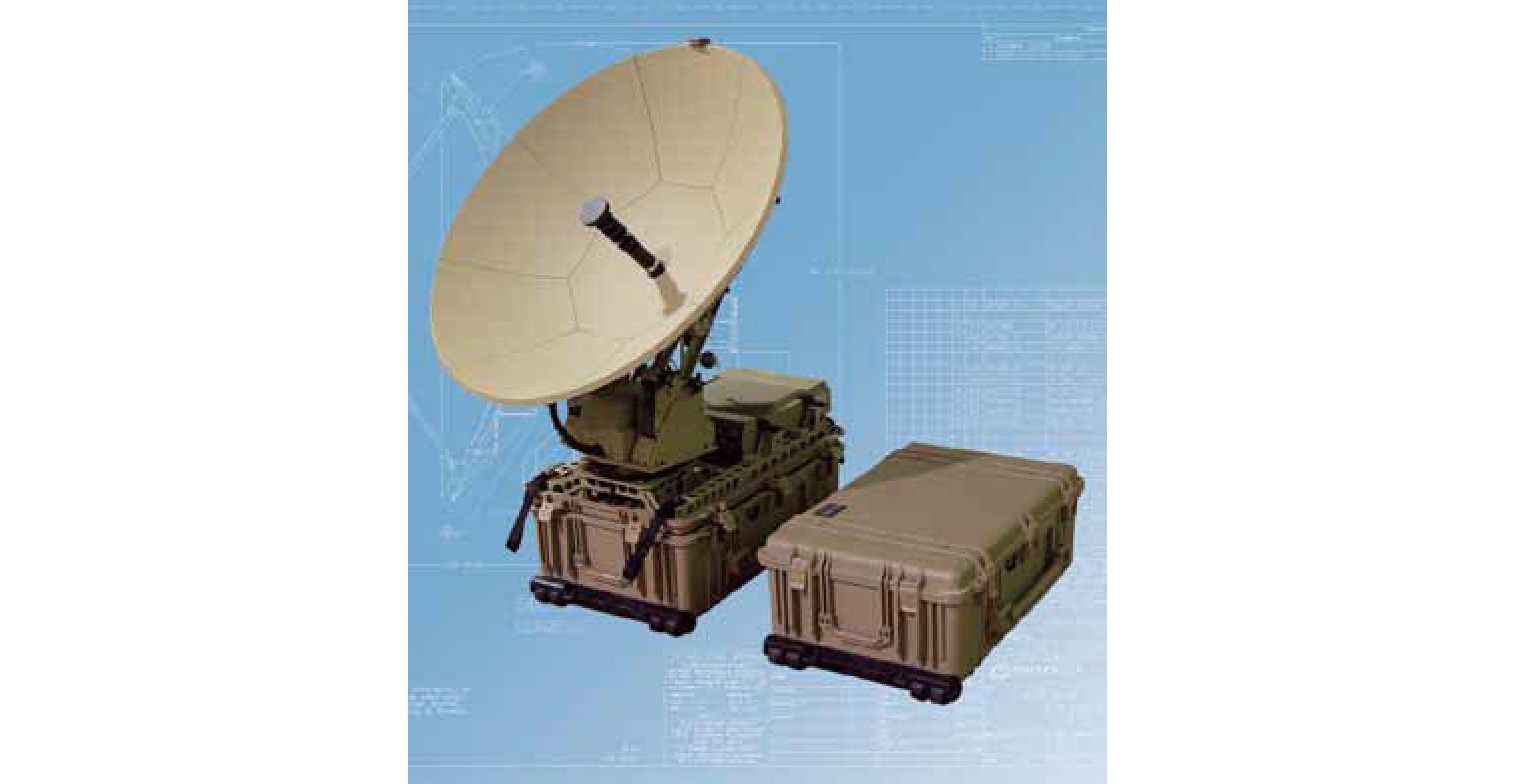 0.96 Meter QDMA Quick Deploy Antenna
