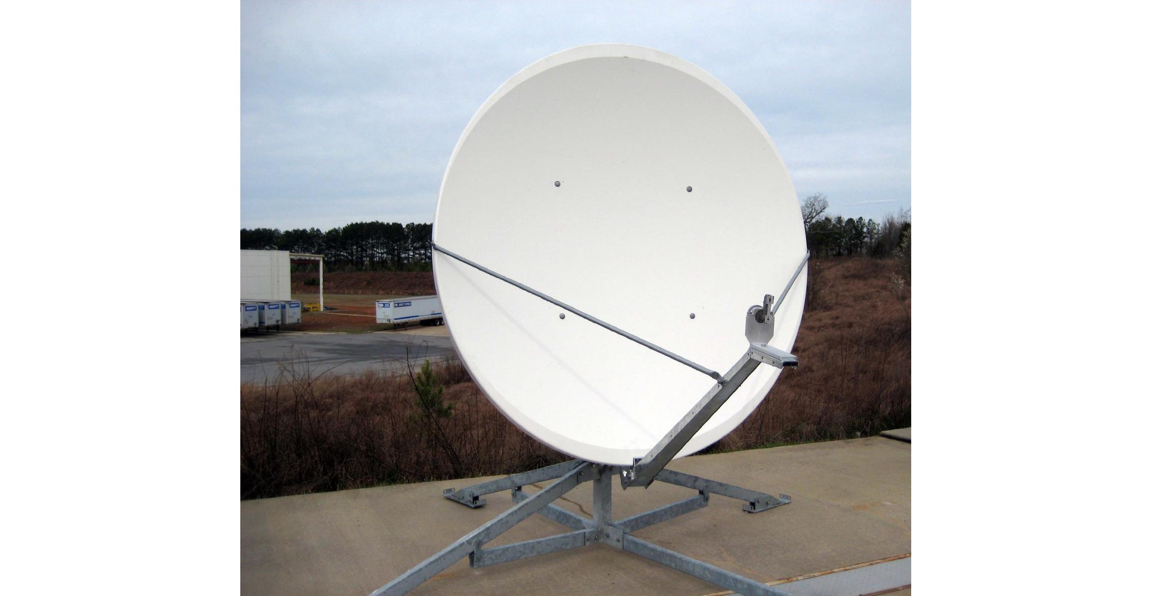 1.8m. Offset Rx/Tx VSAT