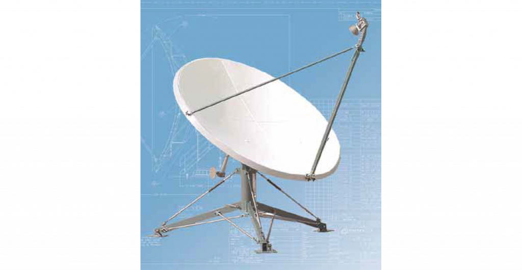 2.4 Meter Quick Deploy Antenna