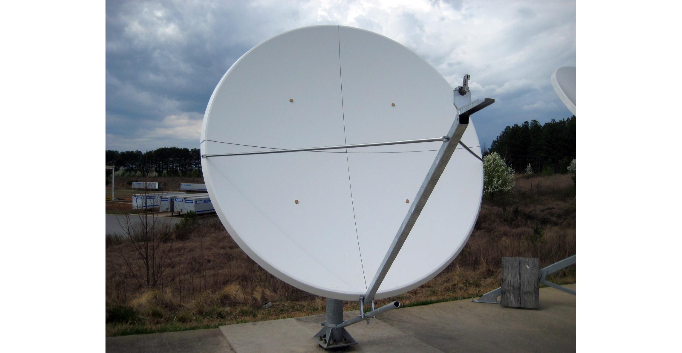 2.4m. Offset Rx/Tx VSAT