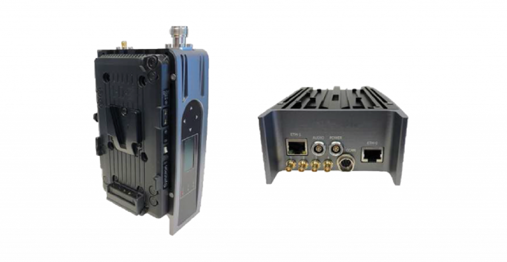 AEON-CC HEVC Transmitter with integrated camera control