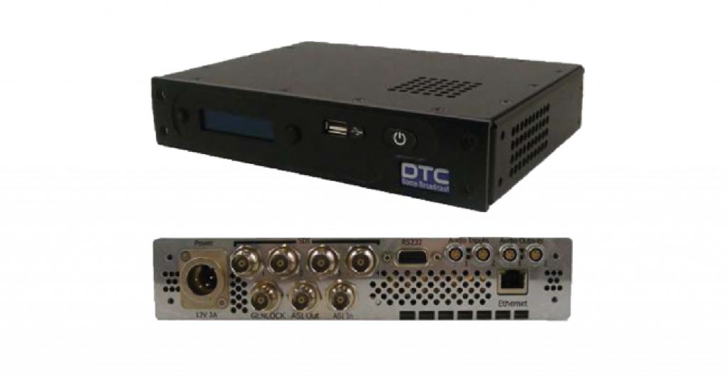 AEON-DEC HEVC Rack Decoder