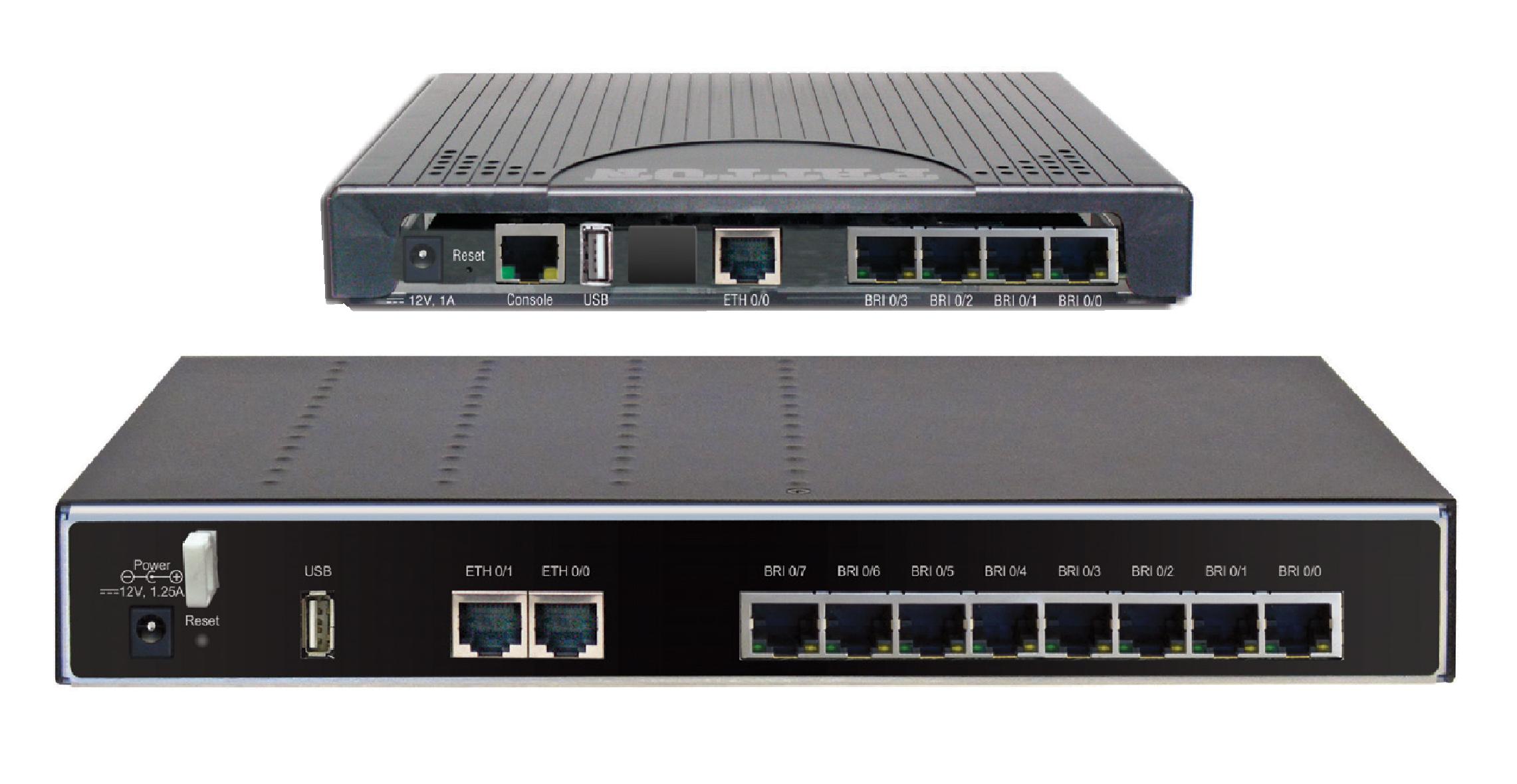 SN4130 ISDN BRI VoIP Gateway