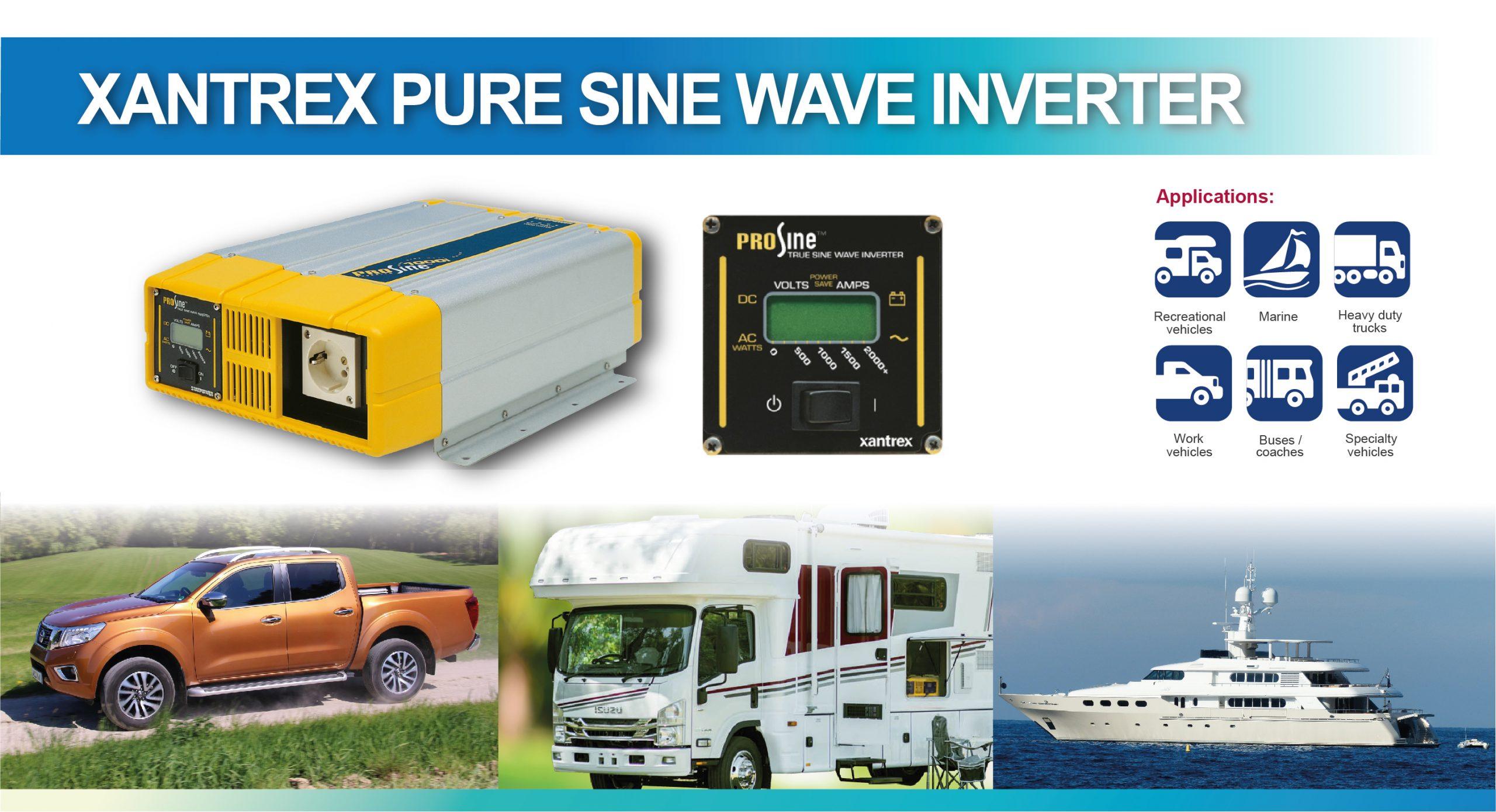 Xantrex Pure Sine Wave Inverter